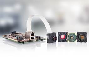 Basler Dart Embedded Camera with BCON for LVDS interface power pack