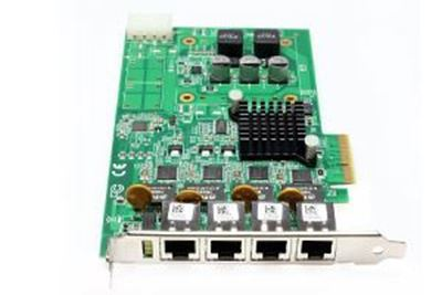 Picture of AdLink GIE64+ 4-port PCIe PoE card